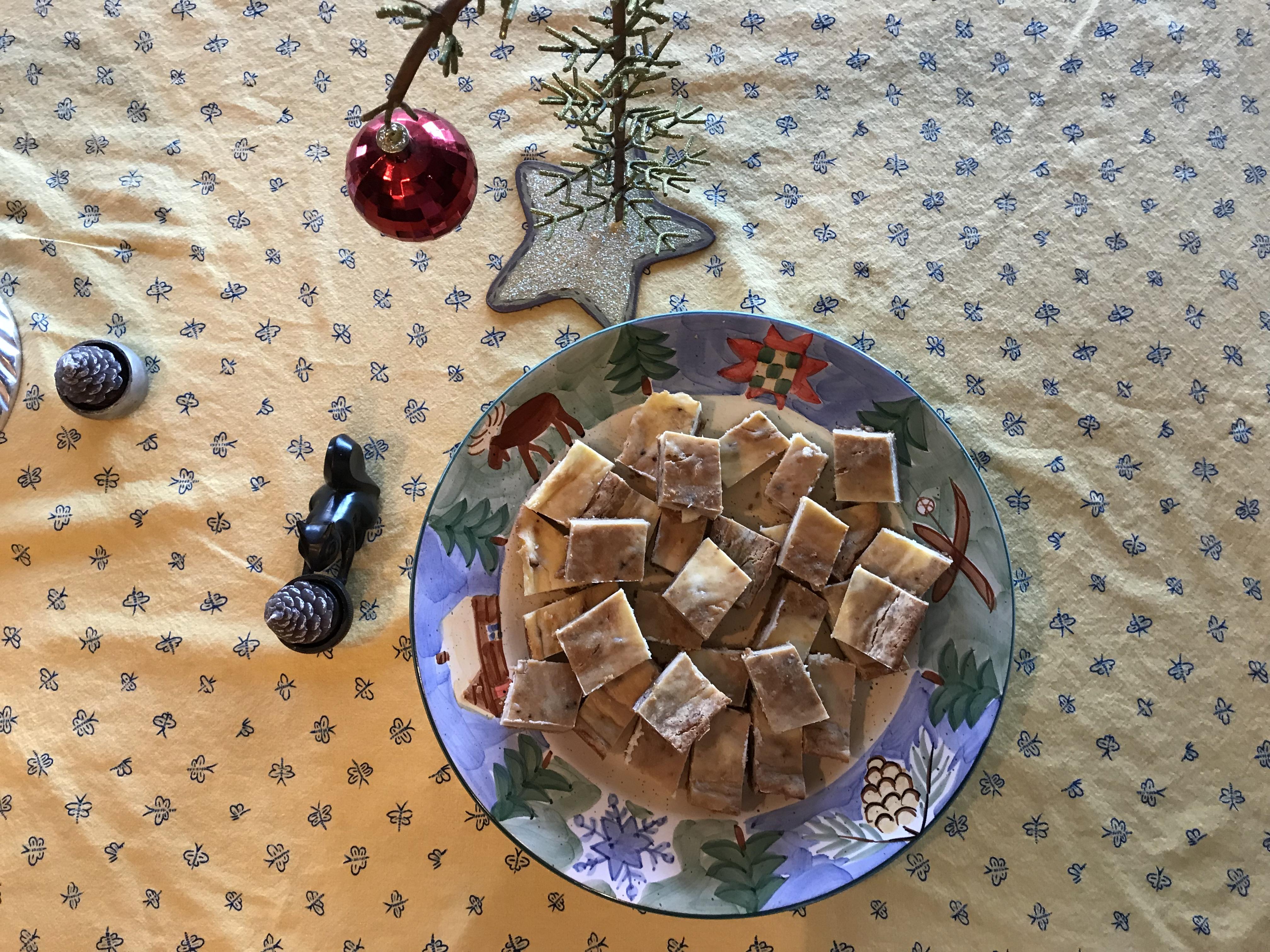 Sea Salt Caramel Swirl Cheesecake Bars DotDot