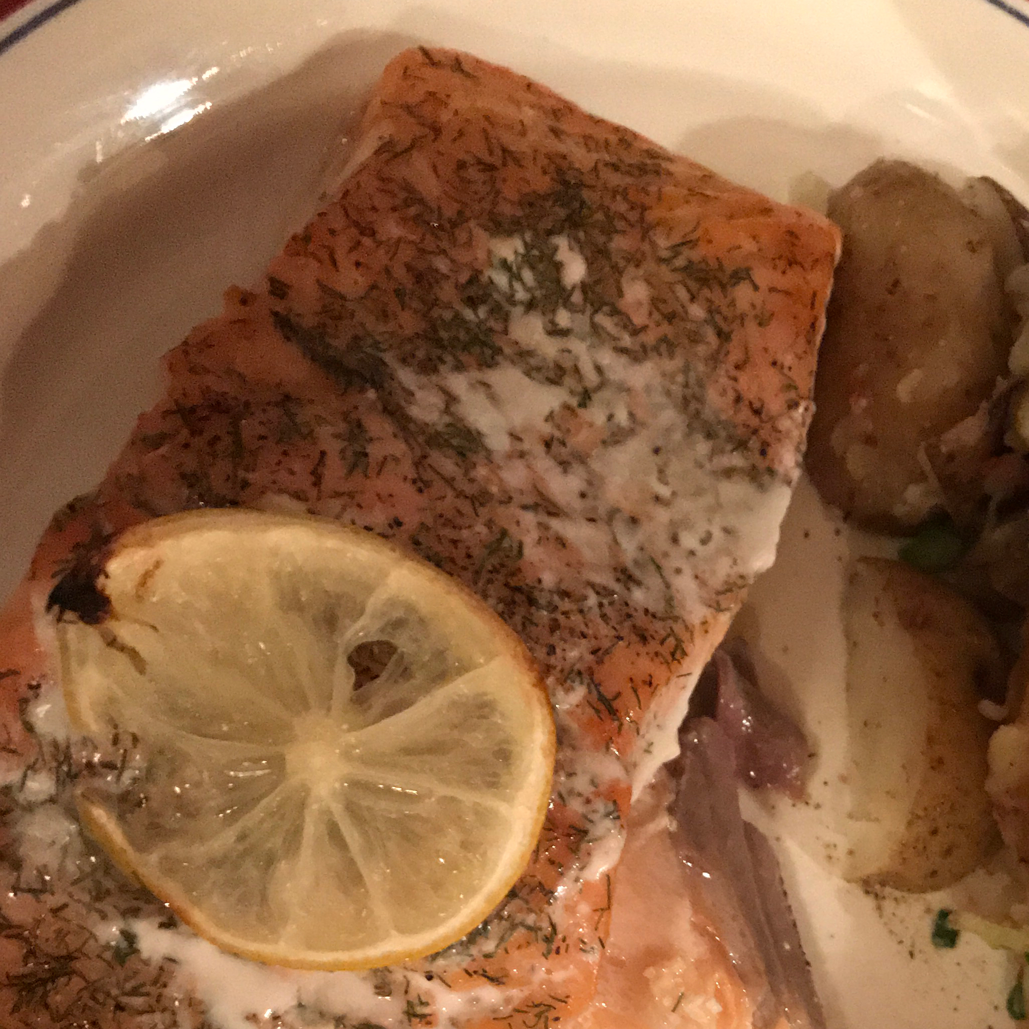 Lemon Dill Salmon Fillet Rcanter