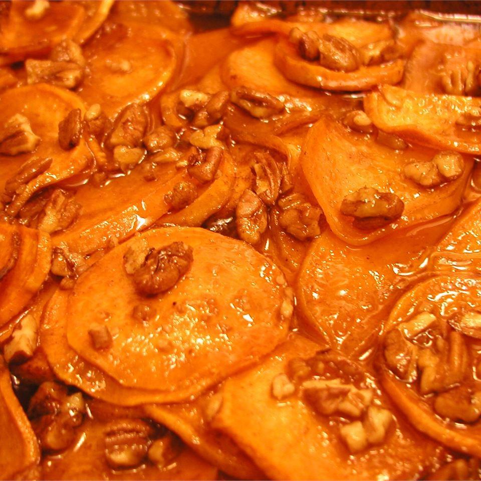 Honeyed Sweet Potatoes Beth Wand Sidell