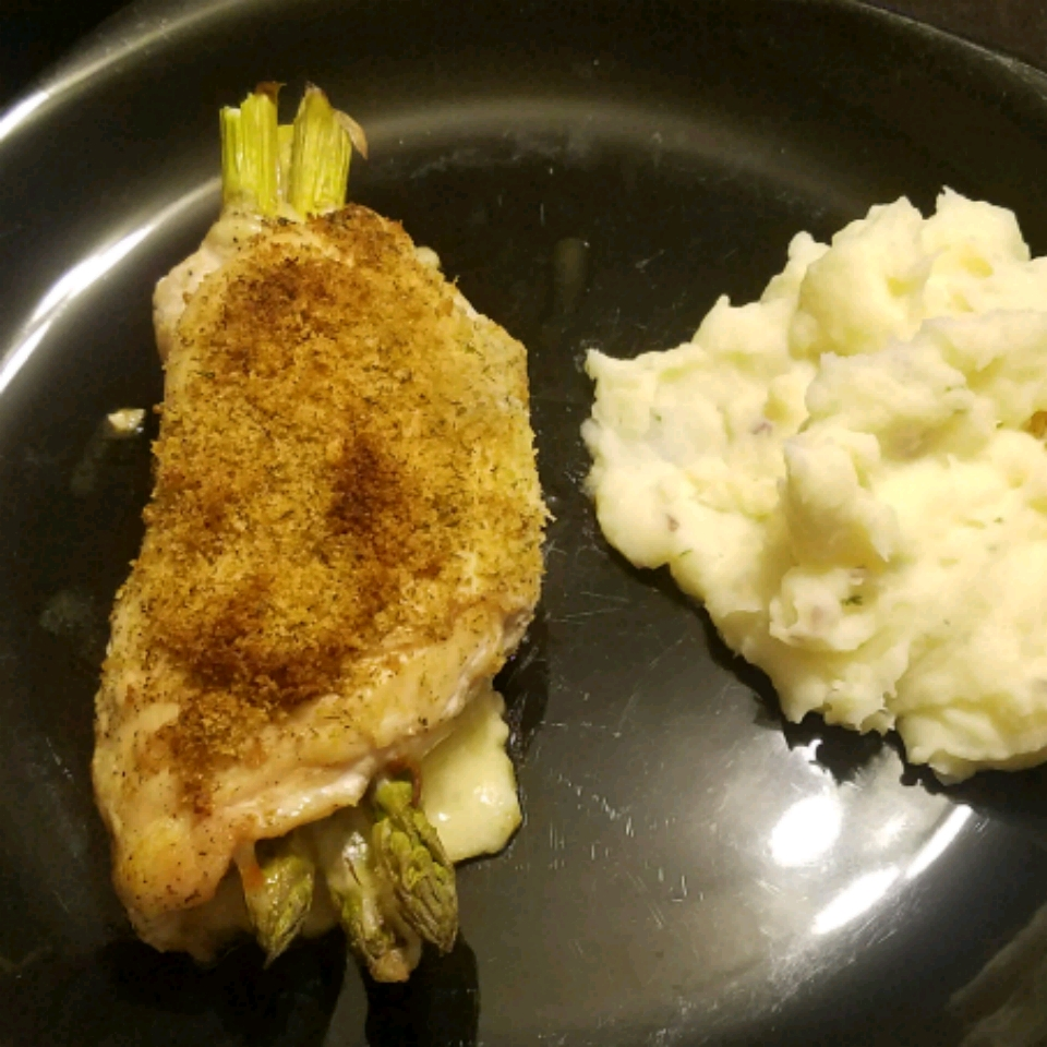 Asparagus and Mozzarella Stuffed Chicken Breasts Serena Panter
