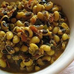 black eyed peas spicy style recipe