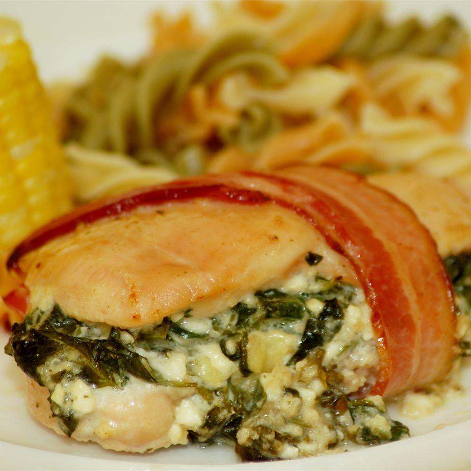 Spinach Stuffed Chicken Breasts