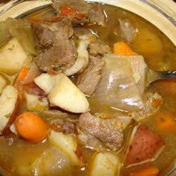 Caldo De Res (Beef Soup) Scotdog