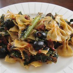 Mediterranean Pasta with Greens