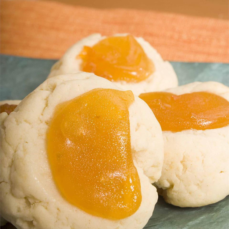 Apricot Cream Cheese Thumbprints Trusted Brands
