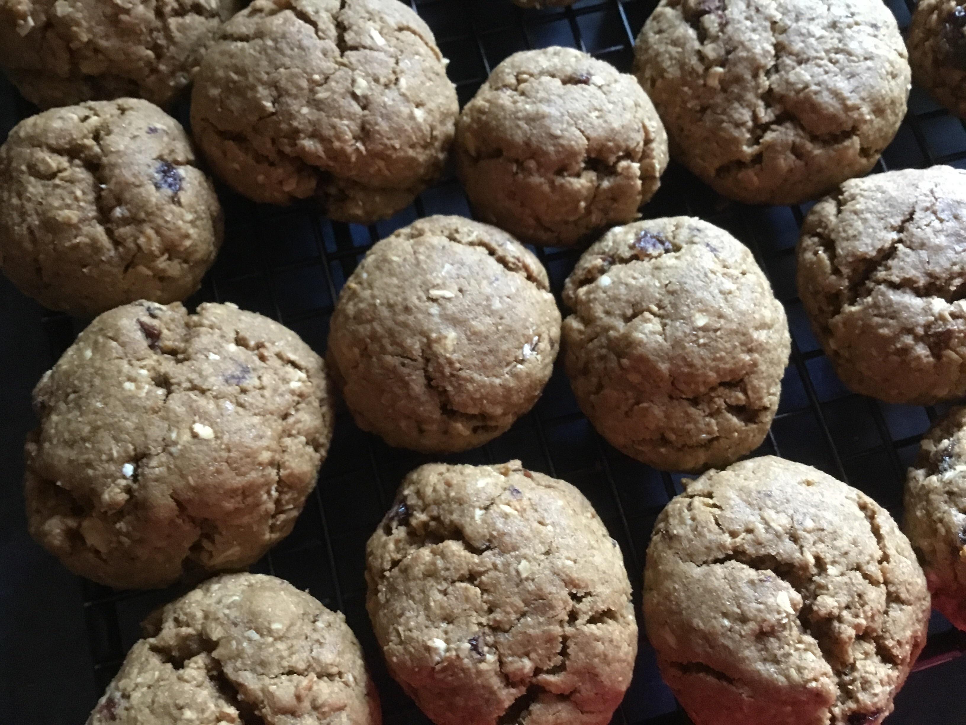 WWII Oatmeal Molasses Cookies Kristieg