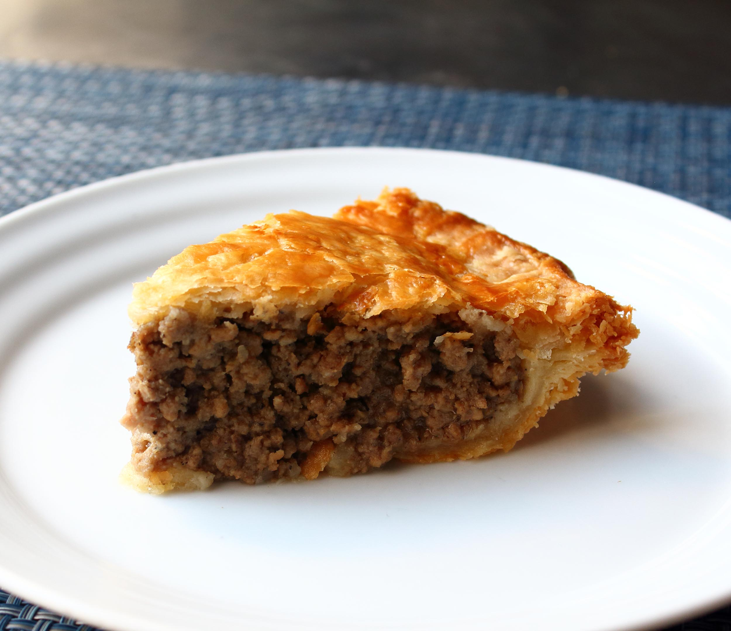 Tourtiere (French Canadian Meat Pie)