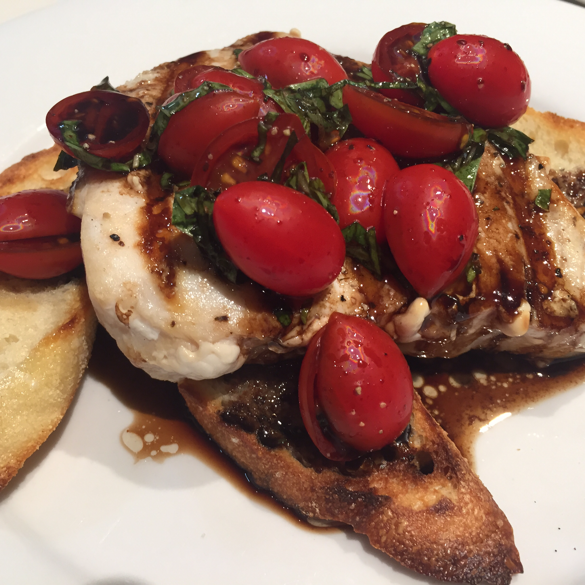 Chef John's Grilled Swordfish Bruschetta Richie Buchan