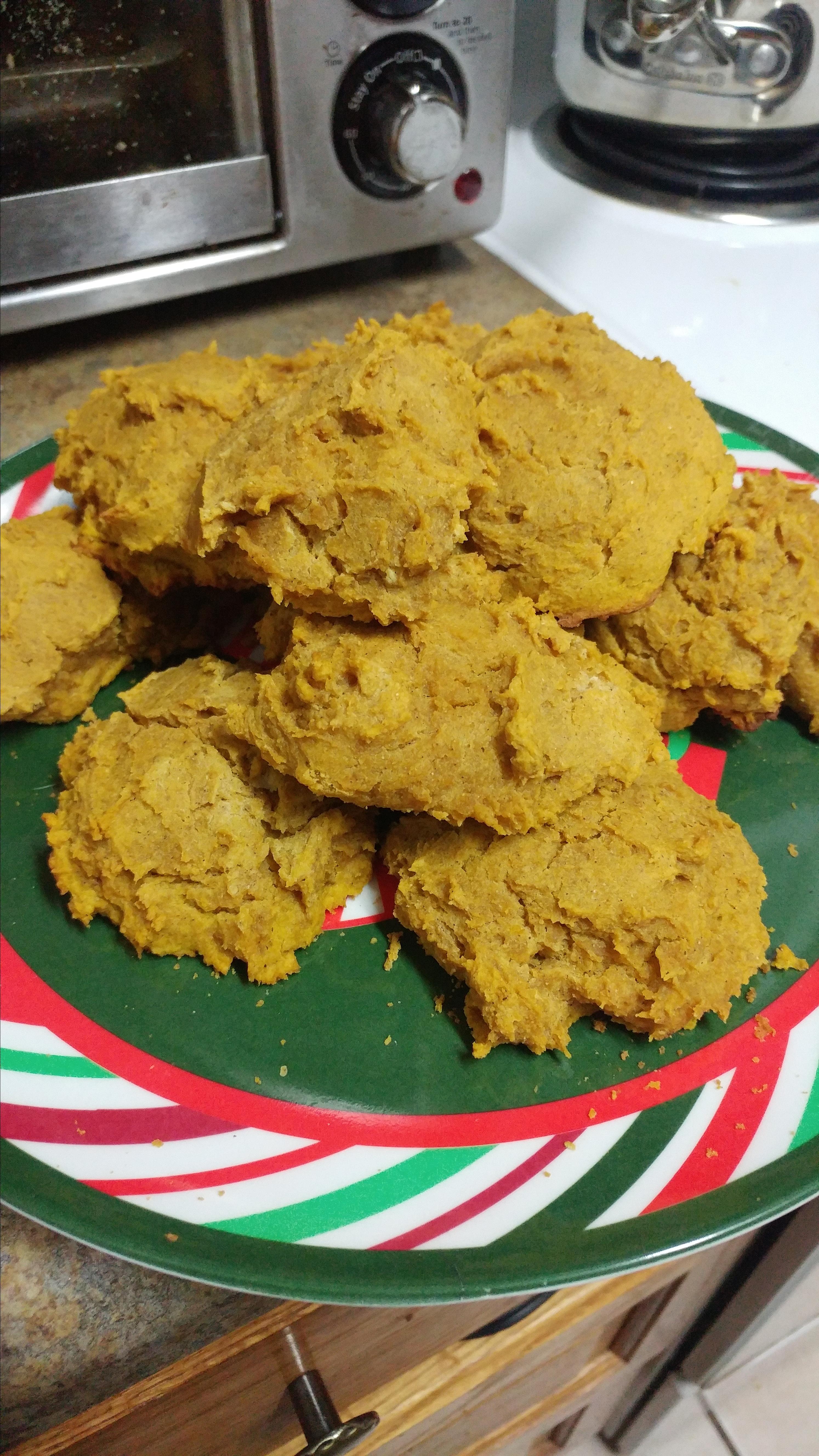 Pumpkin Cookies IV