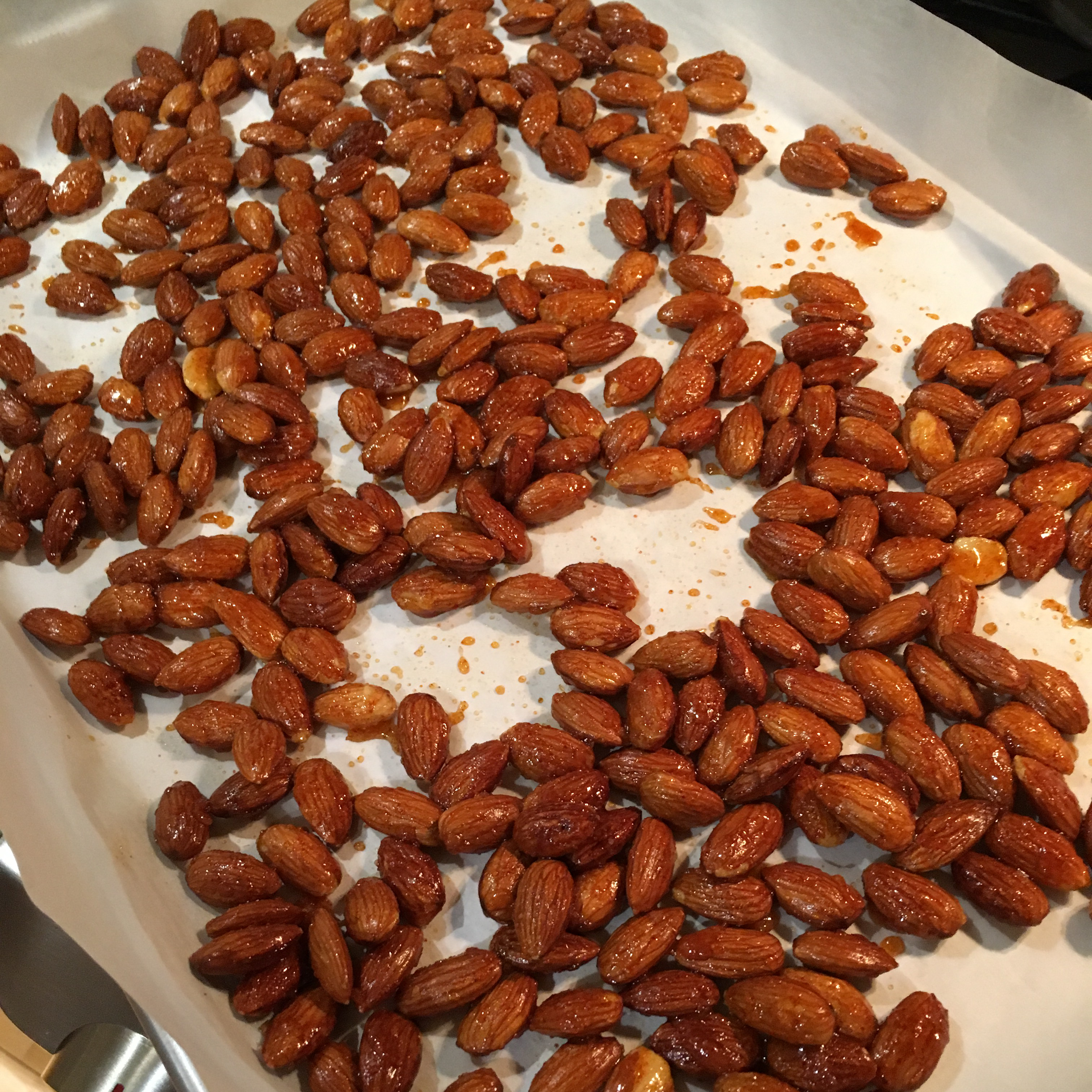 Sweet and Spicy Almonds Anonymous