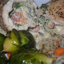 Mediterranean Stuffed Chicken Marisa R.