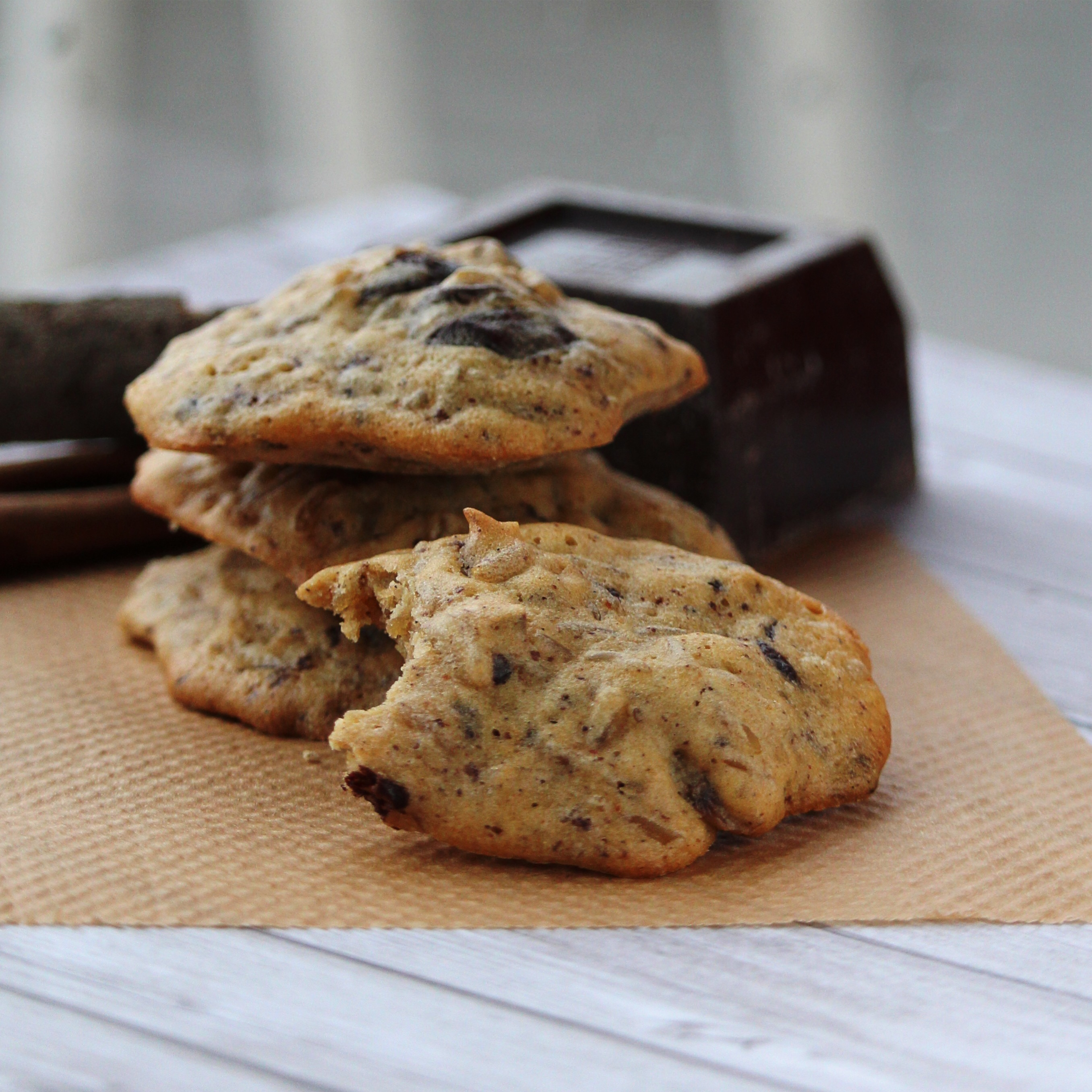 Spiced Rice Cookies with Mexican Chocolate