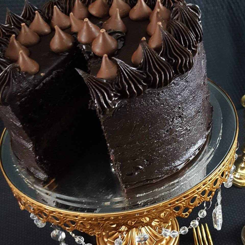 """PERFECTLY CHOCOLATE"" Chocolate Cake Sandra Garth"