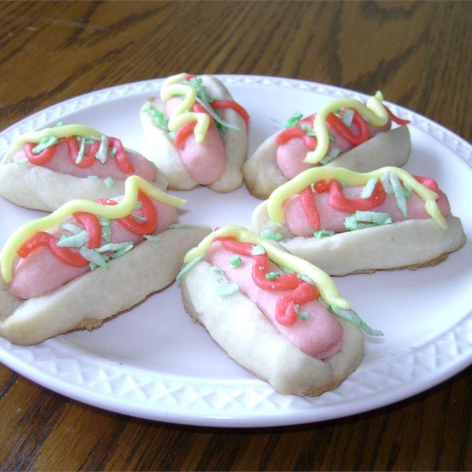 Hot Dog Cookies SarahSue