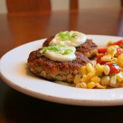 Perfect Crab Cakes With Green Onions Jennifer Baker