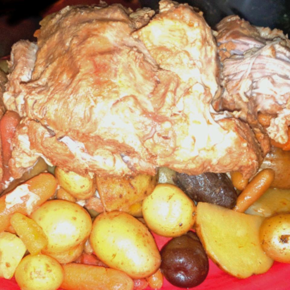 Tender Slow Cooked Pork Roast