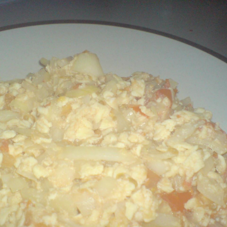 Scrambled Eggs and Tomatoes Chef_S