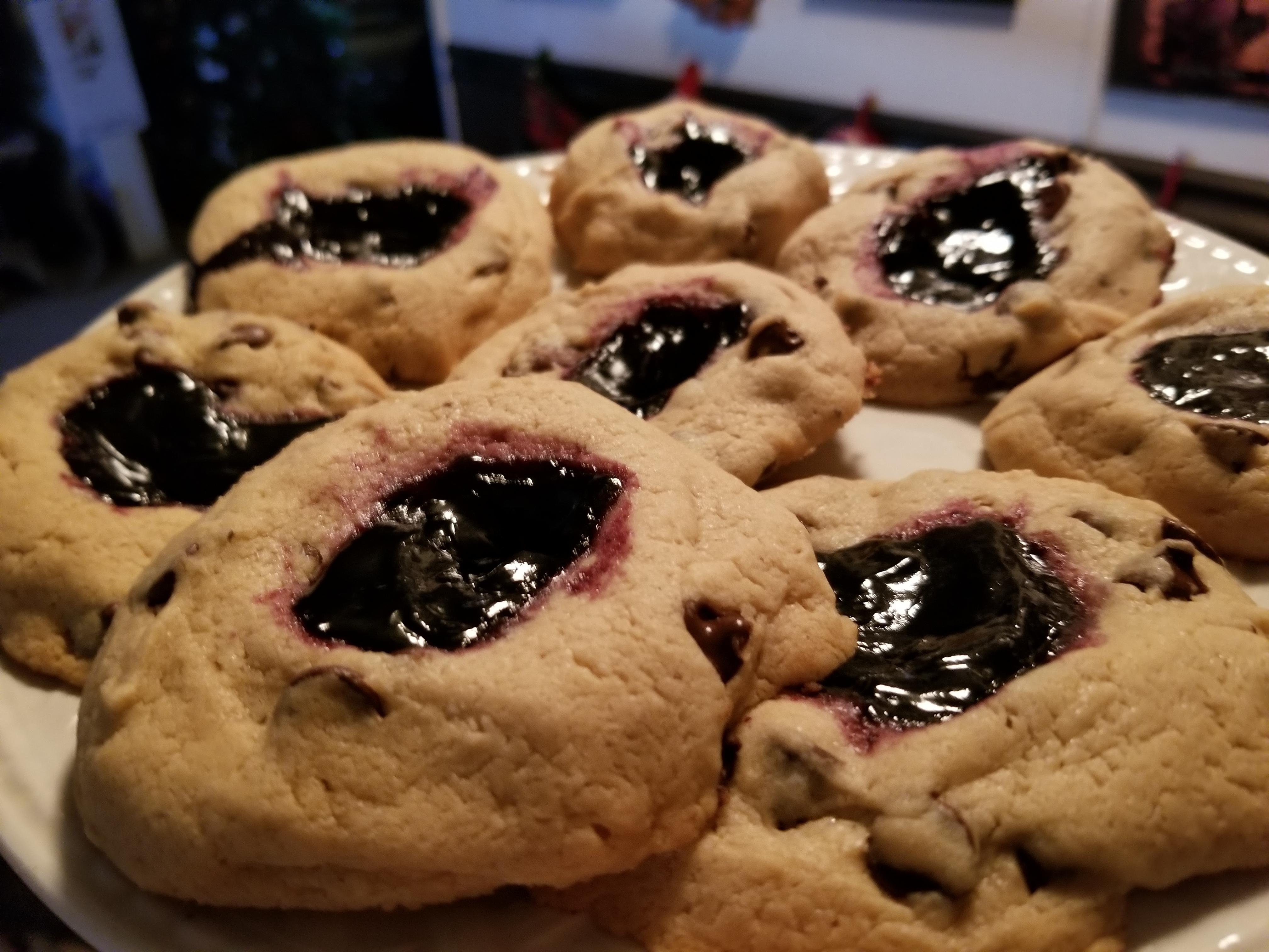 Sugared Black Raspberry Tea Cookies creativelylisa