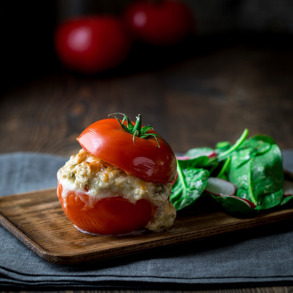Tomato Bun Tuna Melt Trusted Brands