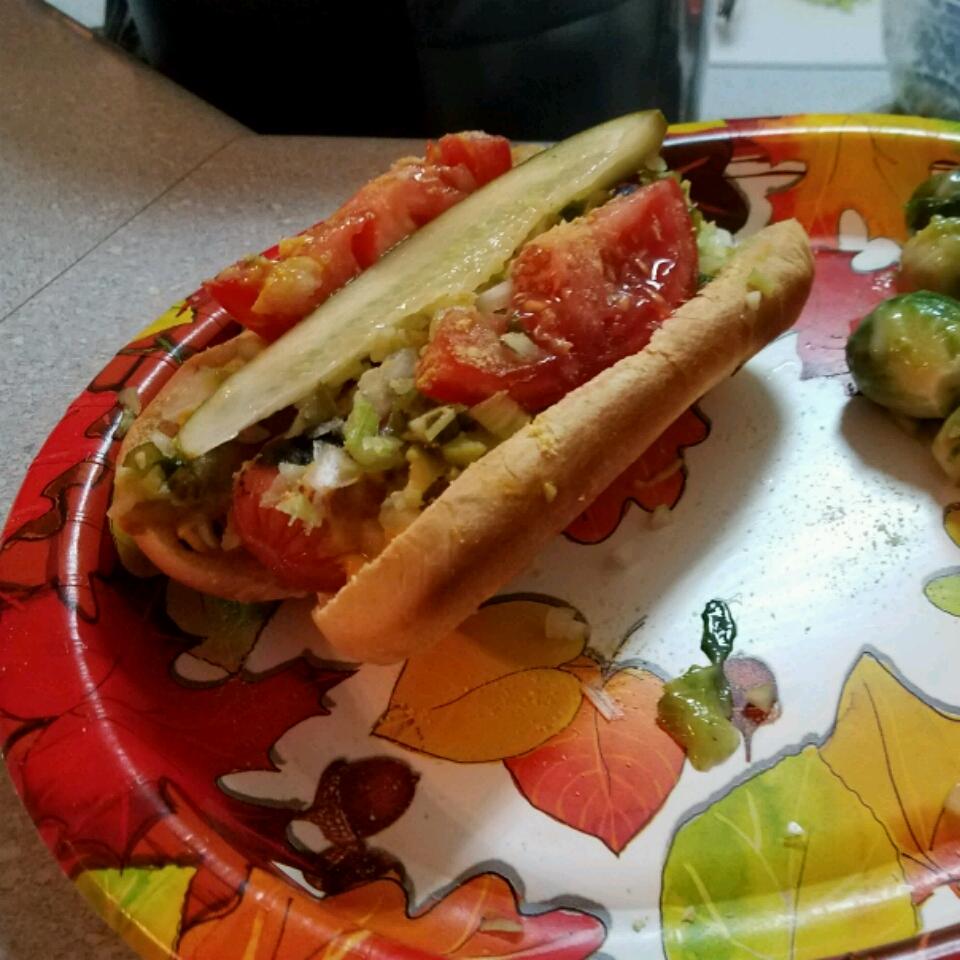 Chicago-Style Hot Dog Samantha Cameron