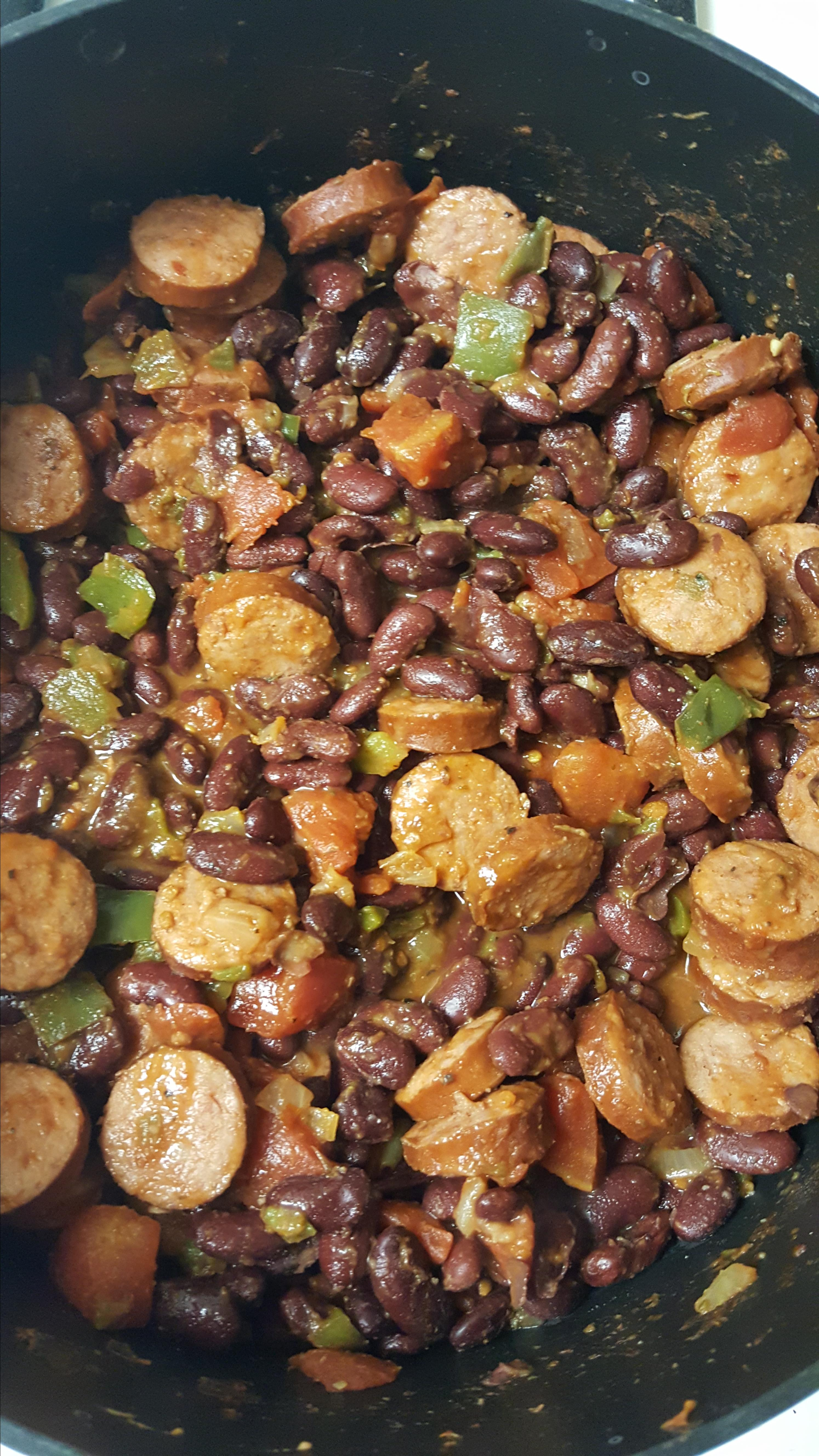 Jessica's Red Beans and Rice