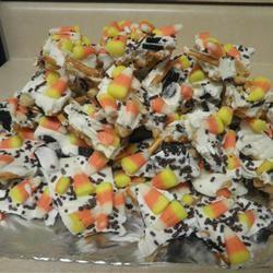 Candy Corn Bark Elizabeth