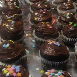 Chocolate-Zucchini Cupcakes