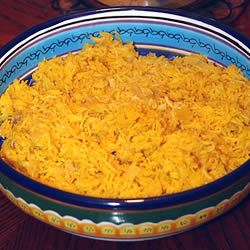 Stovetop Saffron Rice