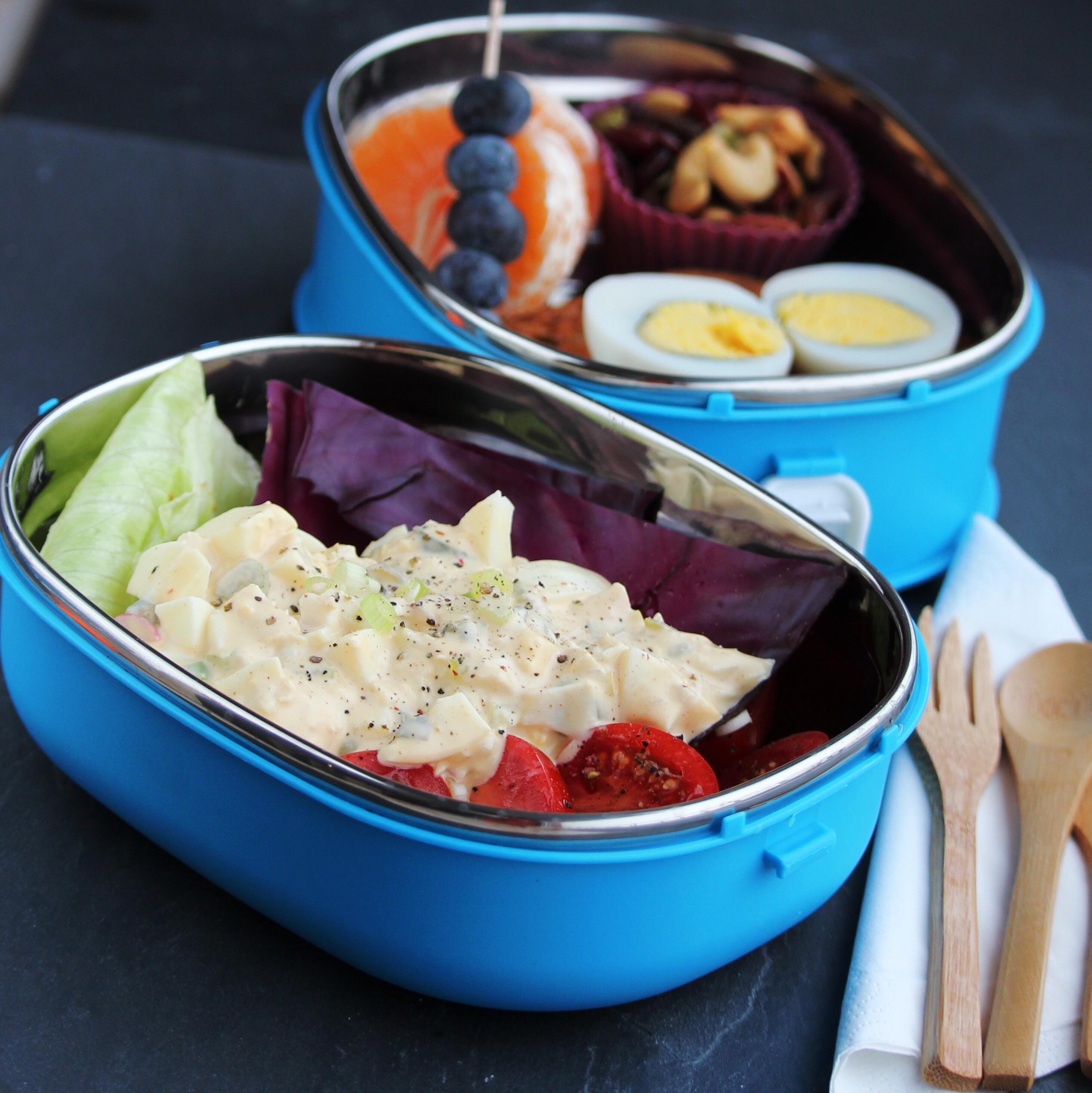 Tuna Egg Salad Bento Box