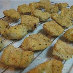 Baked Chicken Nuggets bakeaholic