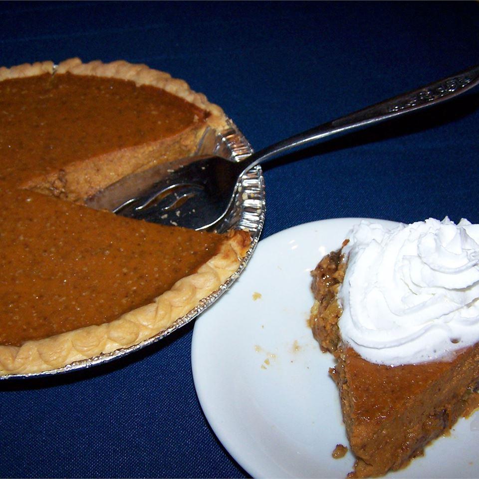 Praline Pumpkin Pie II