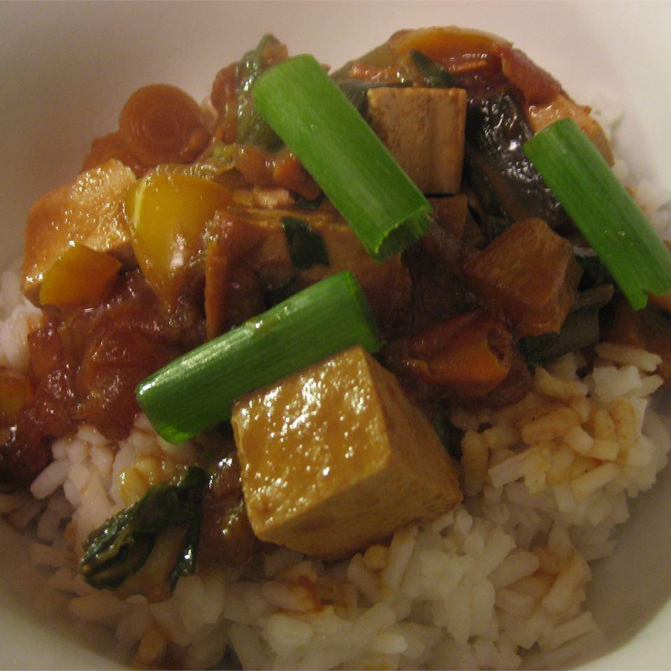Coconut Curry Tofu Michelle