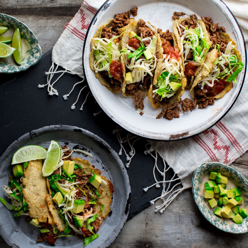 Cauliflower Tortilla Beef Tacos Trusted Brands