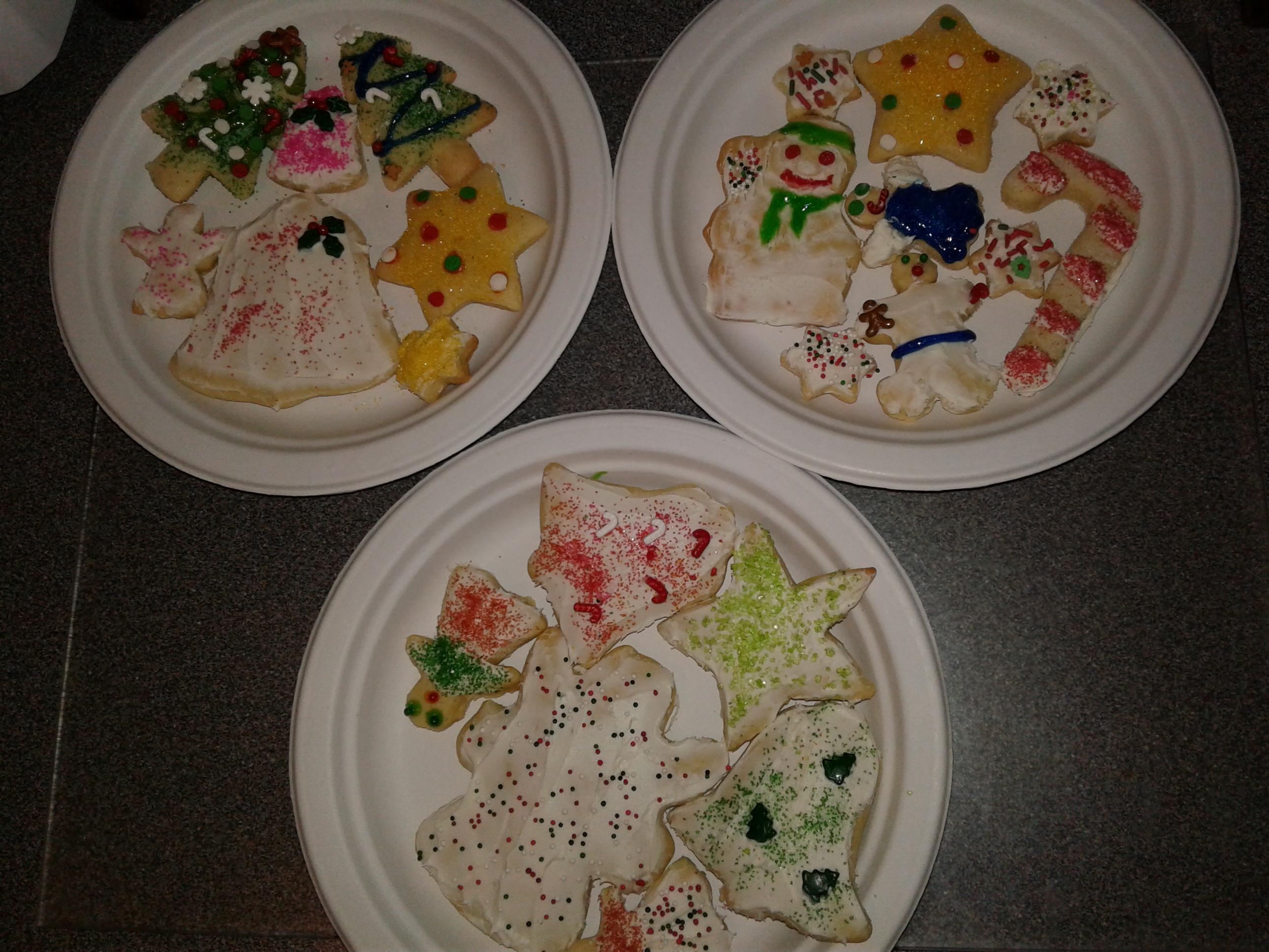 Dora's Christmas Cookies themardi@gmail.com