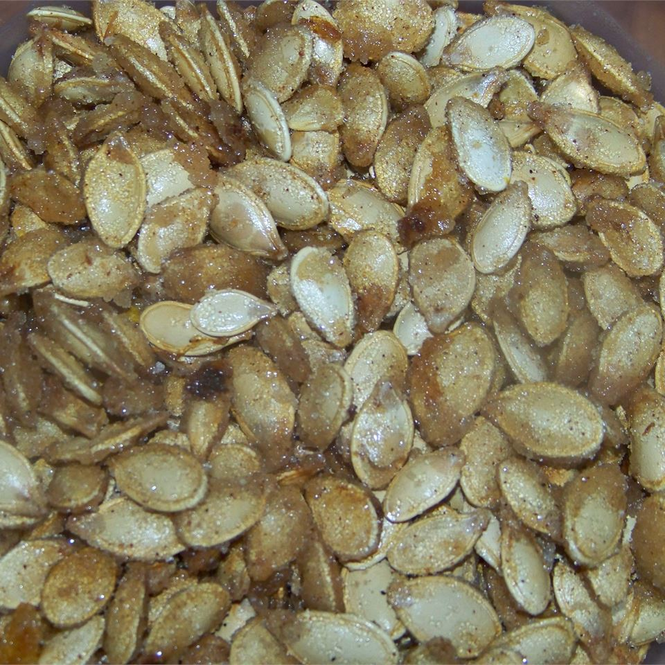 Toasted Pumpkin Seeds with Sugar and Spice