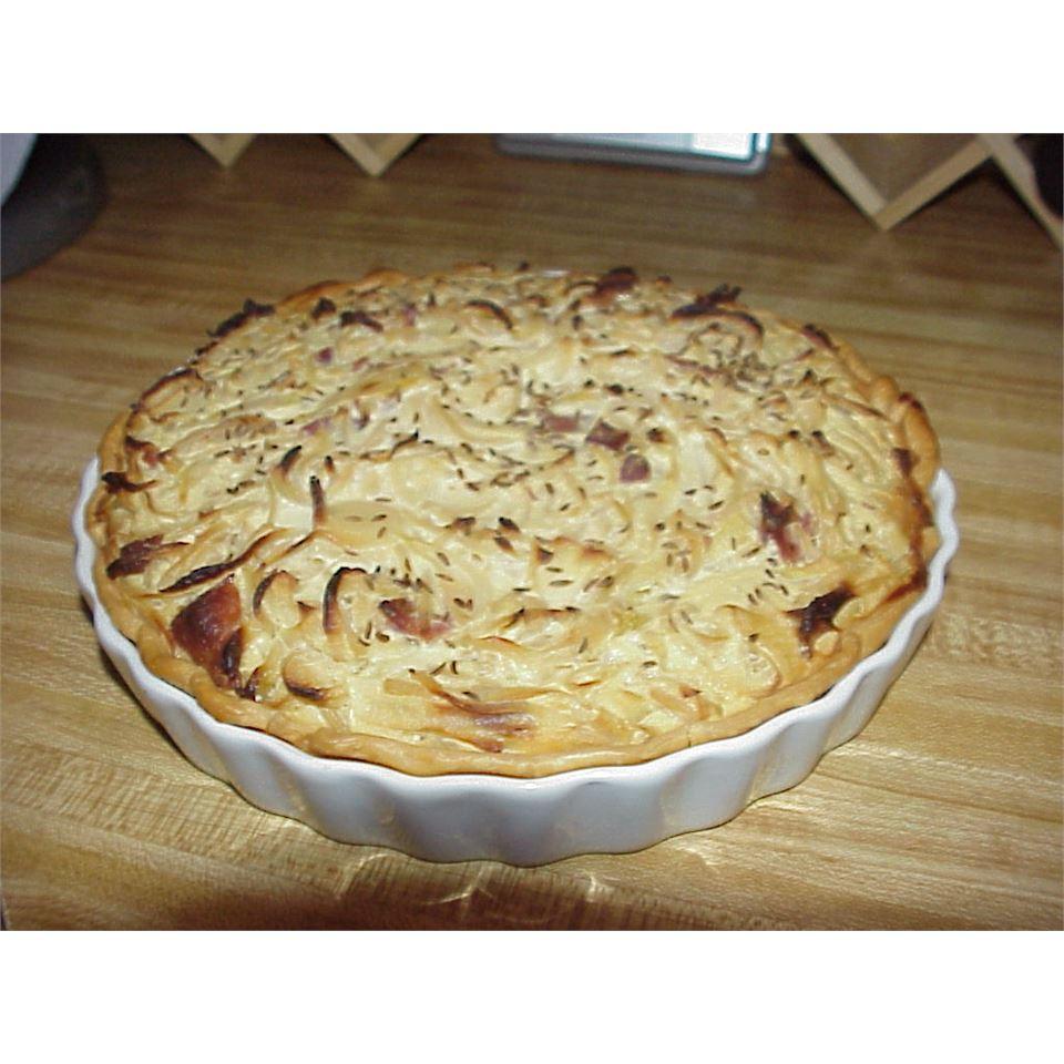 German Zwiebelkuchen (Onion Pie) ranchgirl49