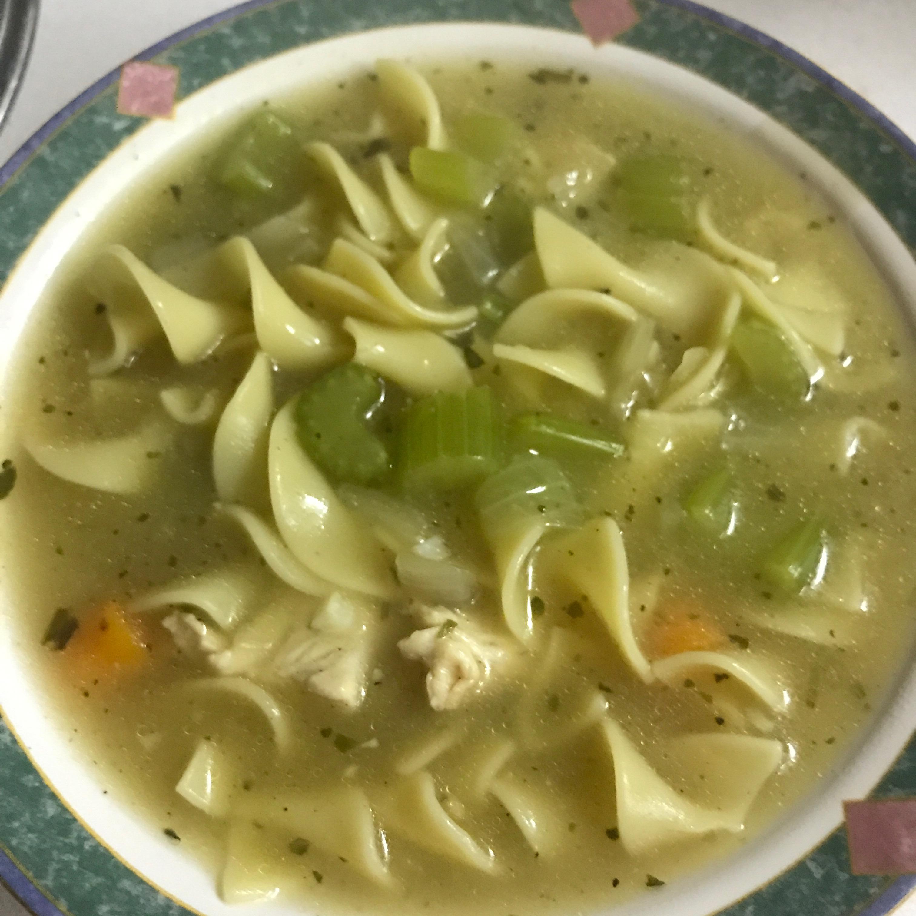 Grandma's Chicken Noodle Soup efultz