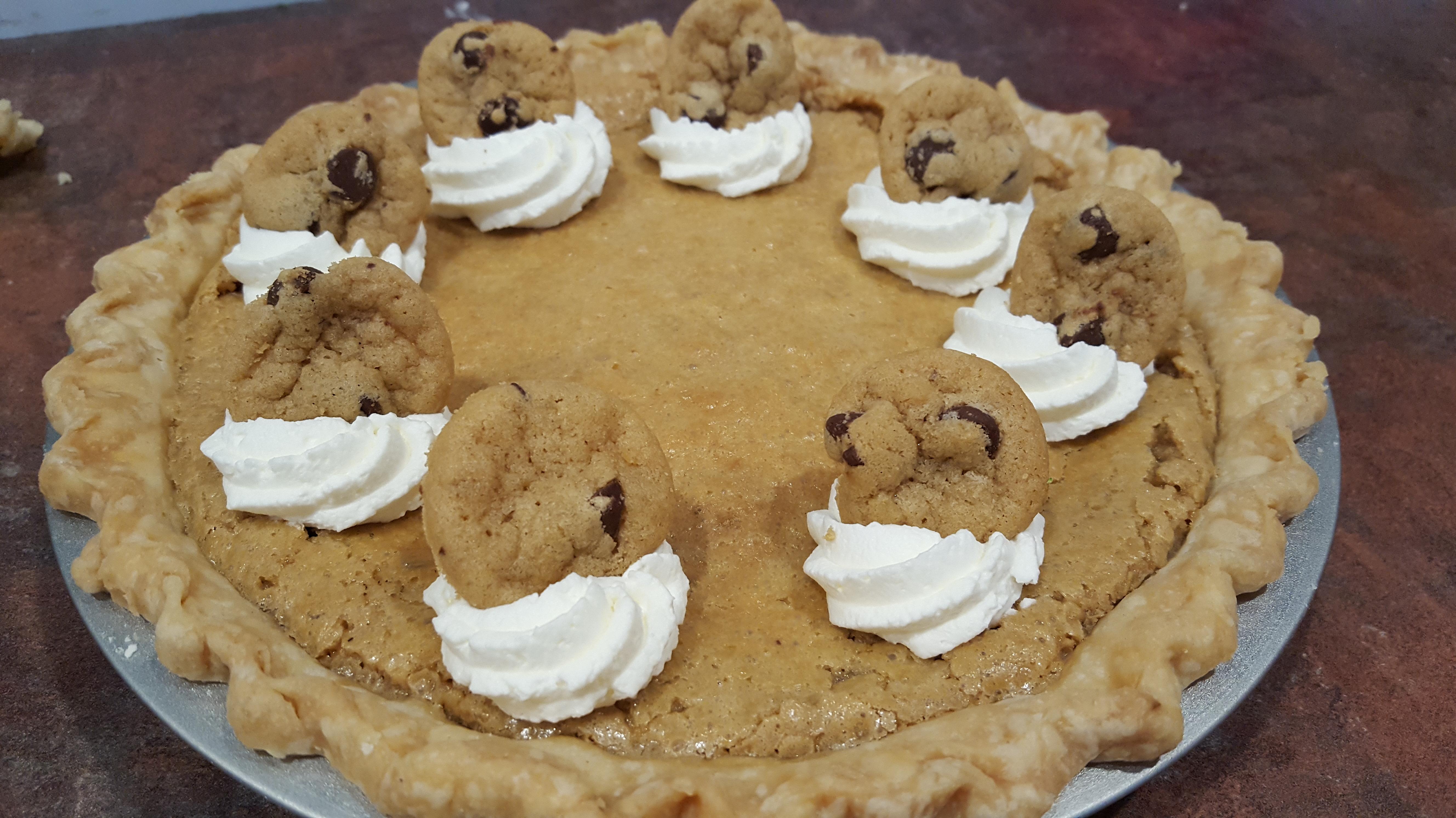 Chocolate Chip Pie I Mirelle Dean