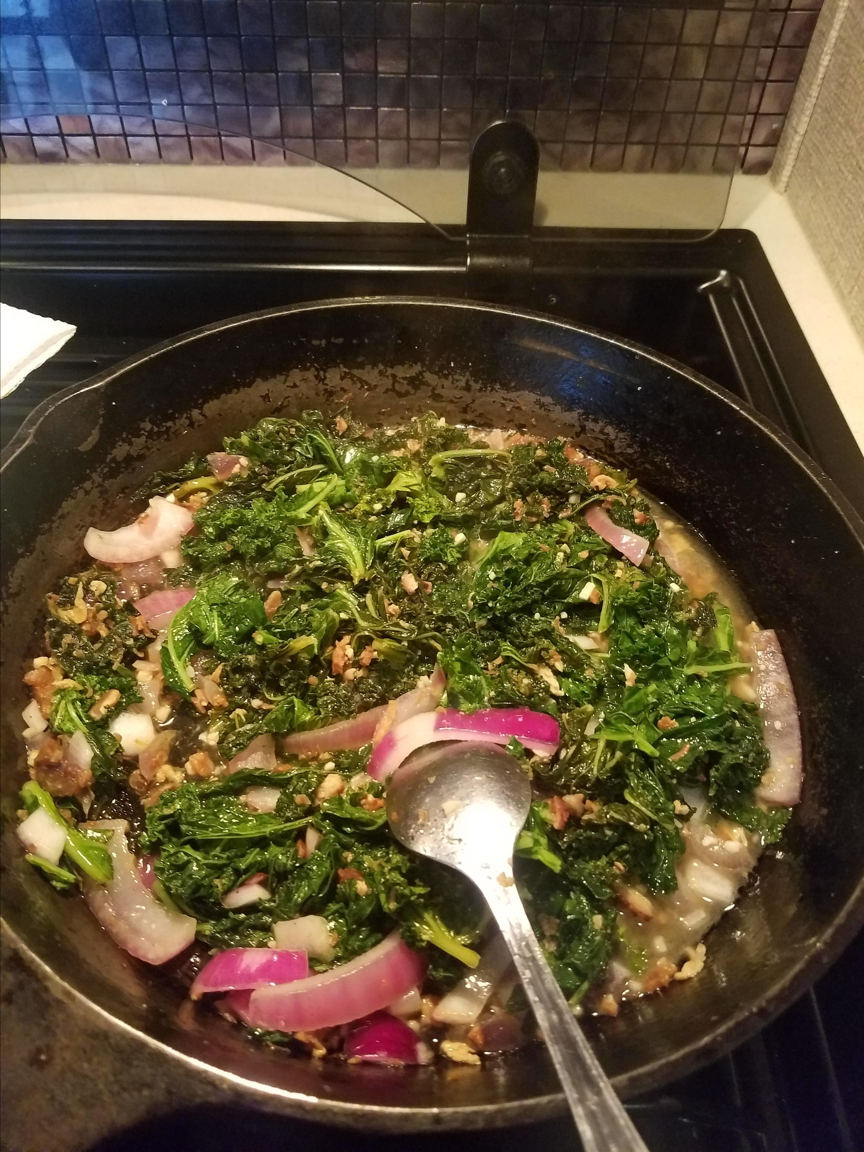 The RIGHT WAY To Cook Greens! Suzi