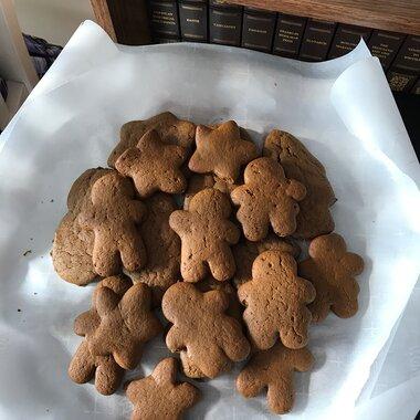 Storybook Gingerbread Men Recipe Allrecipes