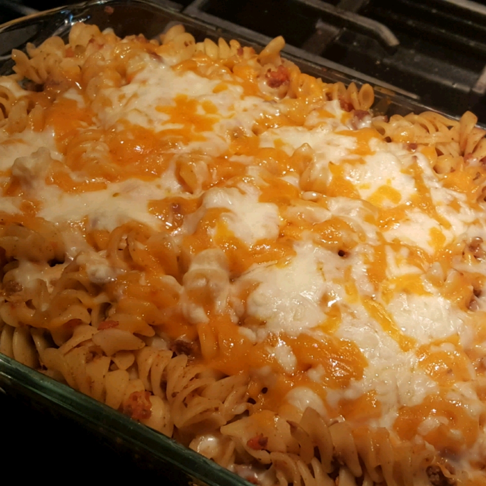 'Beefy' Cheesy Pasta
