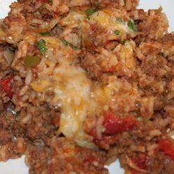 Spanish Rice Bake mcqueenbee