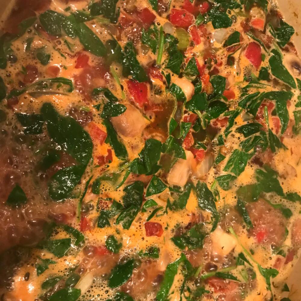 Pasta Bean Soup Chrysanthe