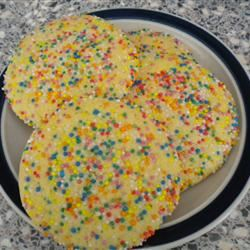 Stir and Drop Sugar Cookies I
