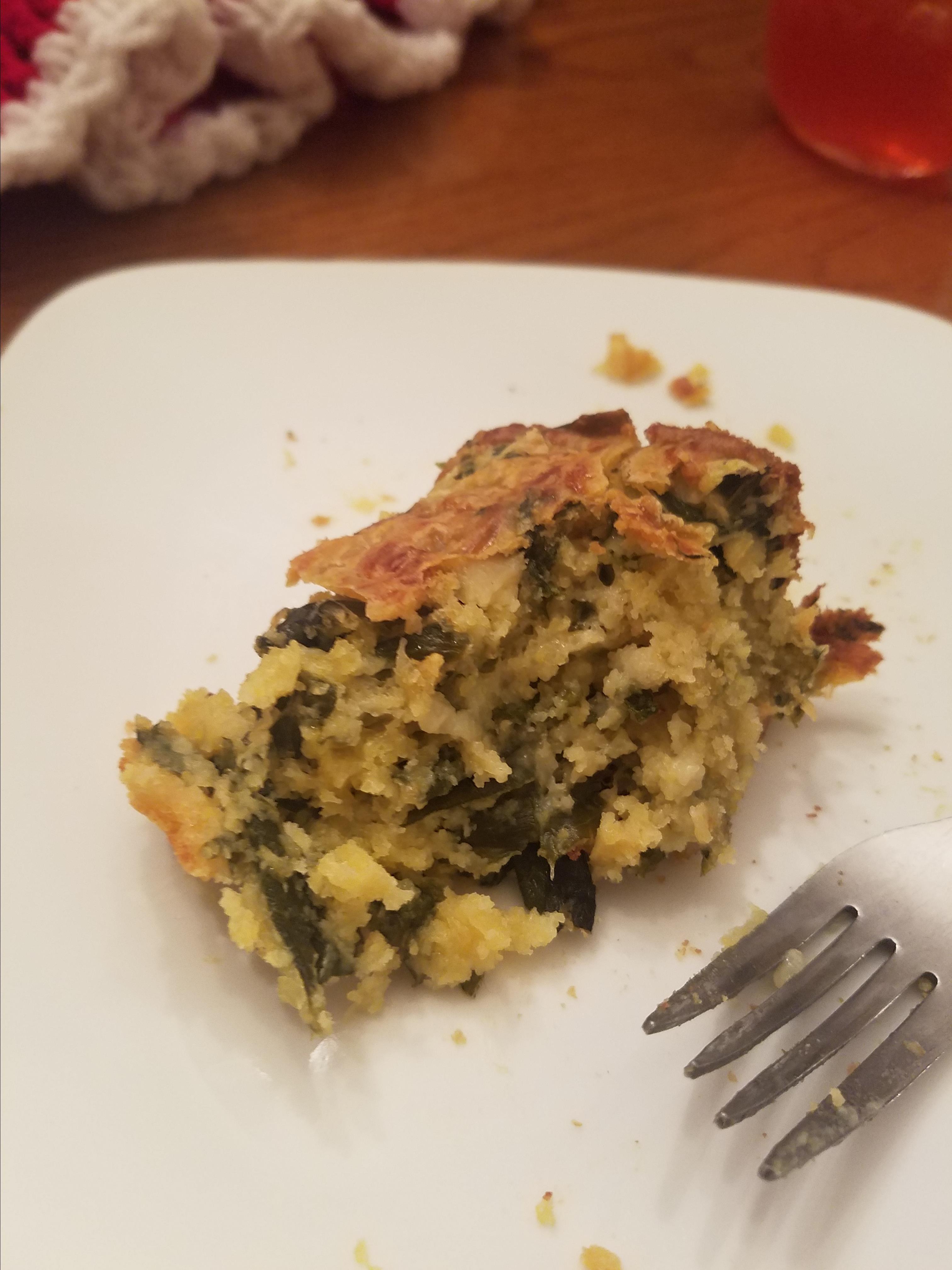Donnasue's Cornbread Mustard Green Casserole JSalazar5