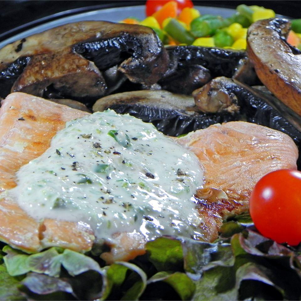 Dragon's Breath Grilled Salmon KIKI810