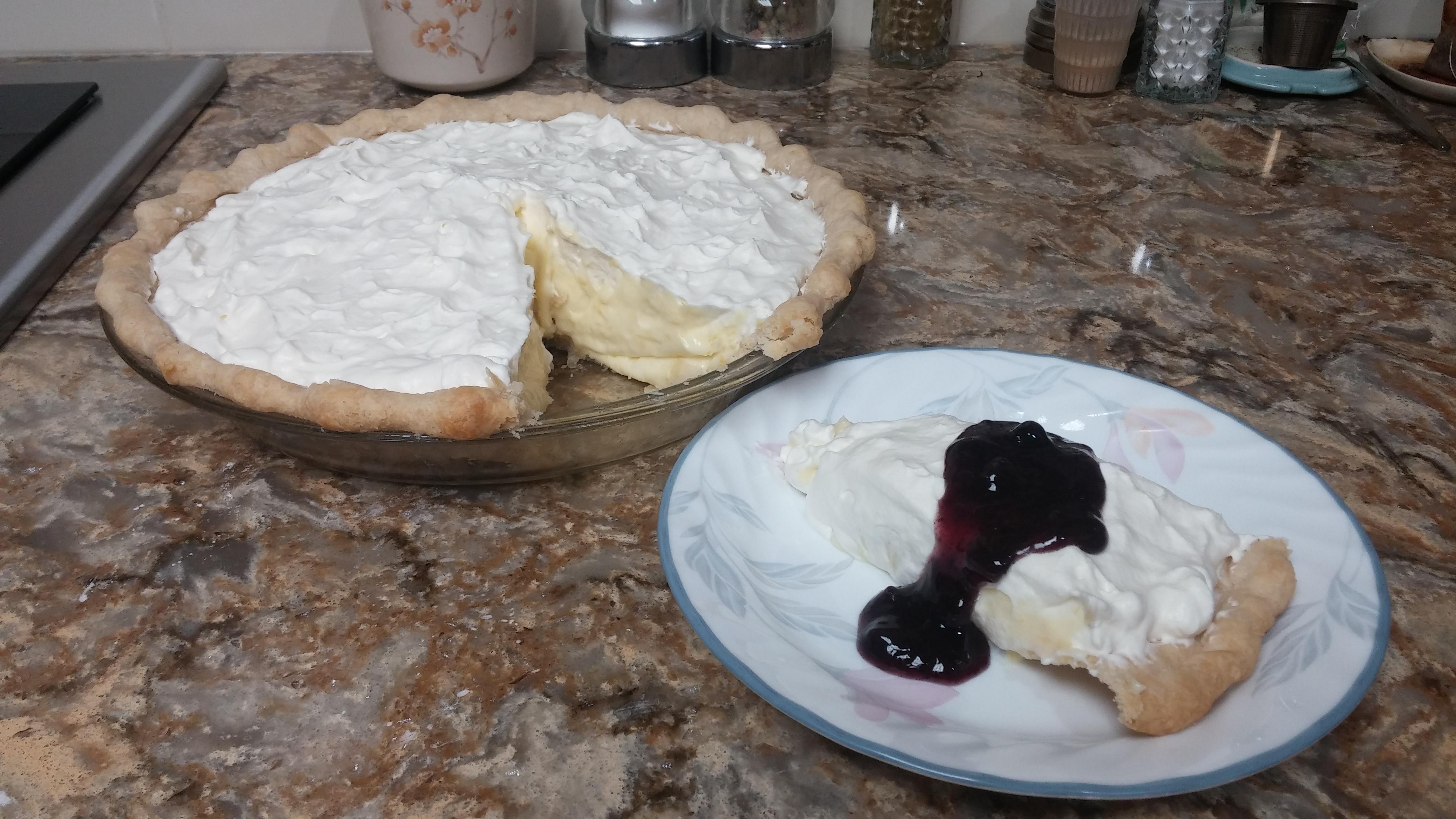 Sour Cream Lemon Pie Rochelle L