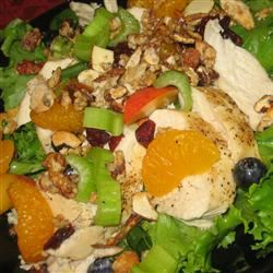 The Really Good Salad Recipe with Pieces of Fruit JARRIE
