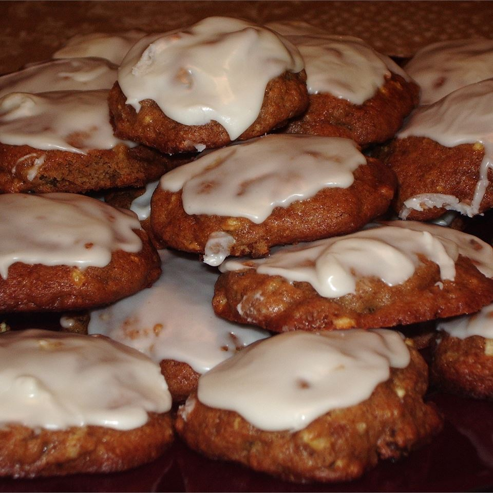 Glazed Apple Cookies CHRISCOOKING