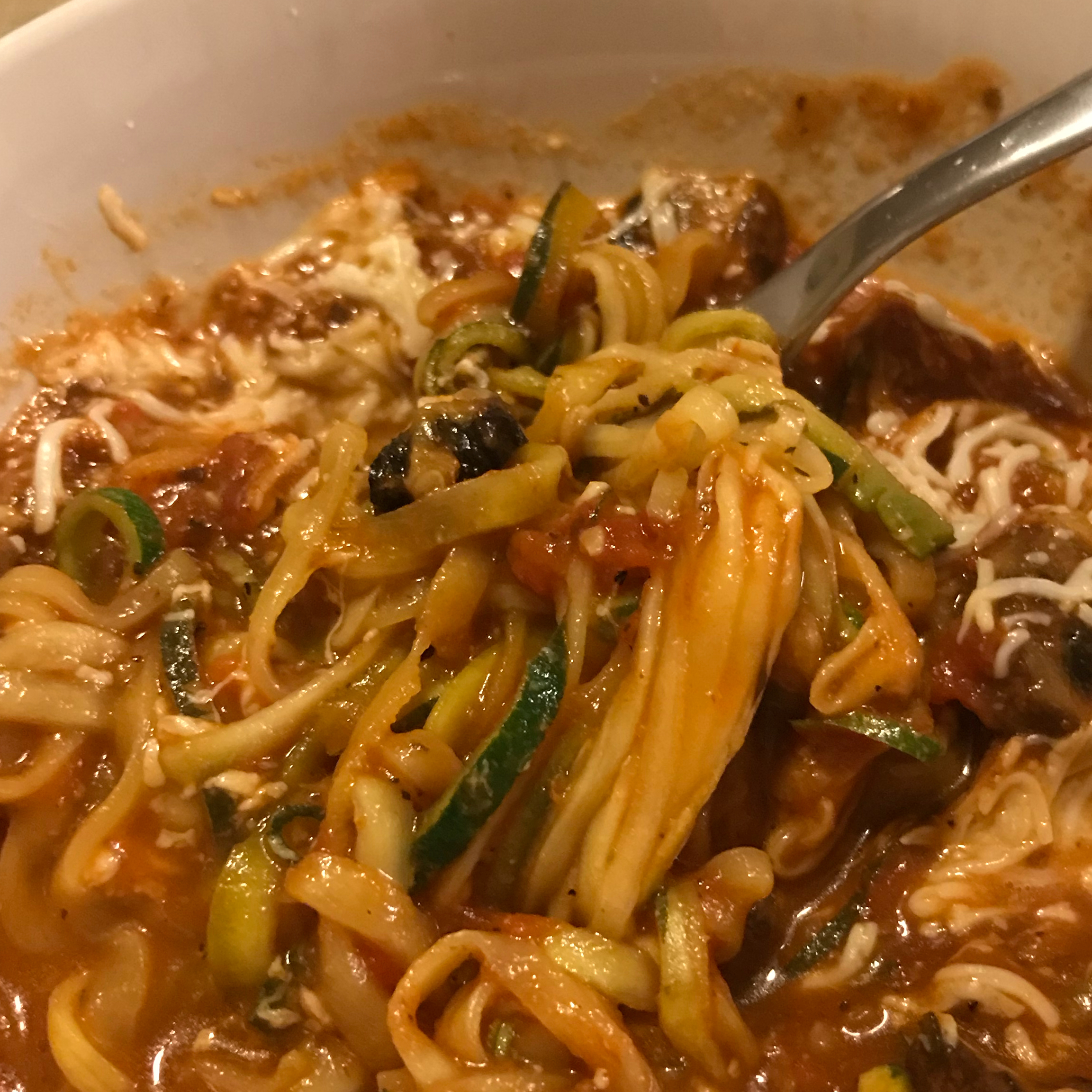 Zucchini Spaghetti Lindsey Sumitra